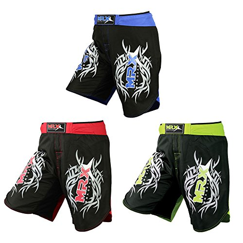 New MRX MMA Fight Shorts Stretch Penals Grappling UFC Cage Fighting Muay Thai Kickboxing Training Trunks