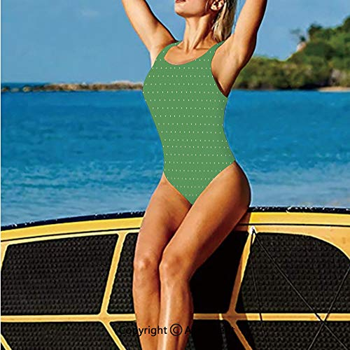 Women Bathing Costume,60s Style Retro Vintage Inspired with,Water Activities