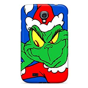Samsung Galaxy S4 BWH435CGFd Allow Personal Design Beautiful The Grinch Skin Protector Hard Phone Cases -AaronBlanchette