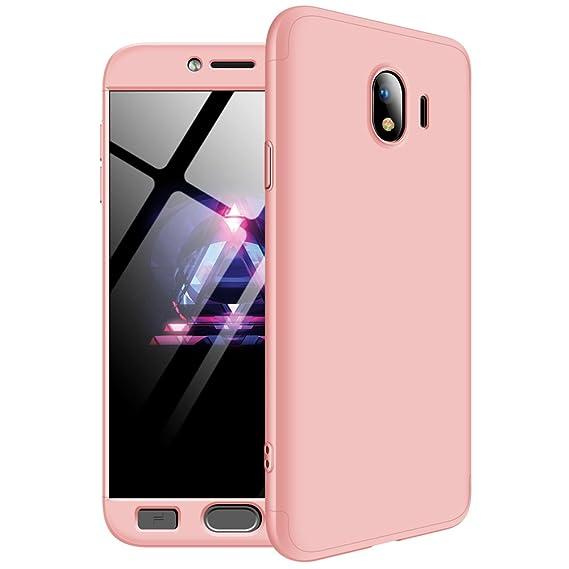promo code 8c57b fe269 Amazon.com: Samsung Galaxy J4(2018) Case, 3 in 1 Detachable Anti ...