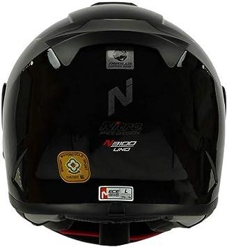 Leopard LEO-958 Motorbike Motorcycle Helmet Visor Clear