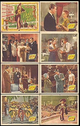 Doll Face - Authentic Original 14x11 Movie Set Of Lobby Cards