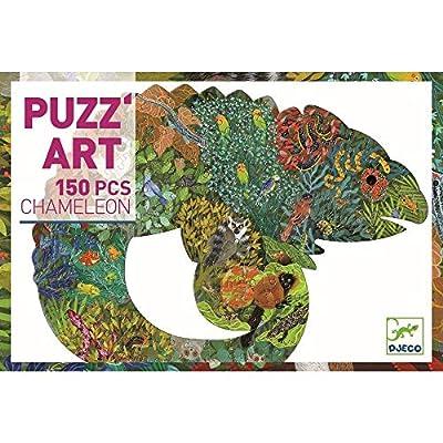 DJECO Puzz Art Chameleon Jigsaw Puzzle: Toys & Games