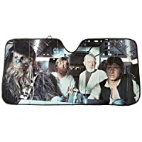 Plasticolor 003700R01 BRAND NEW Star Wars Accordion Sunshade - FREE SHIPPING