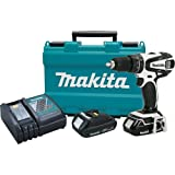 Makita LXPH01CW 18-Volt Compact Lithium Ion Cordless 1/2-Inch Hammer Driver Drill Kit