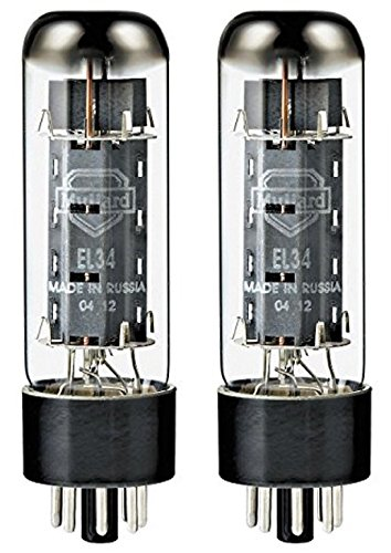- Mullard EL34 Power Vacuum Tube, Platinum Matched Pair