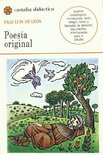 Poesia Original (Castalia Didactica) (Spanish Edition)