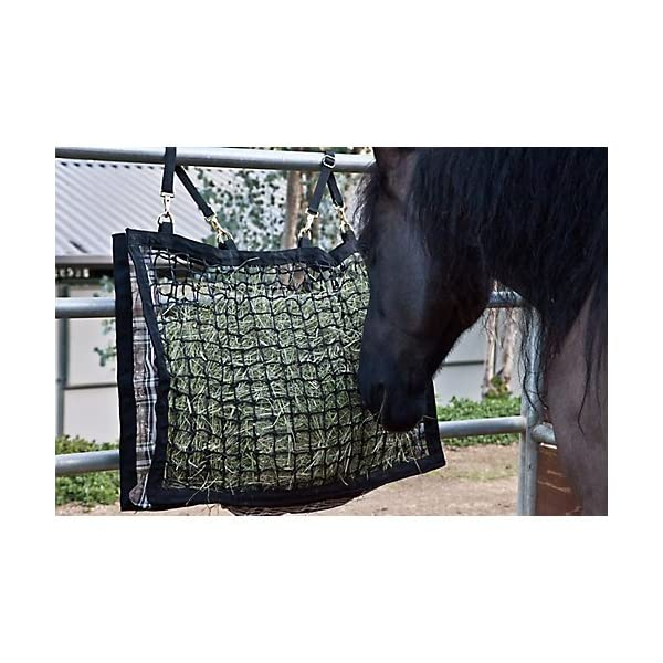 Kensington Slow Feed Hay Bag with Extra-Durable Nylon Straps Designed for Better Digestion, Colic-Free Feeding 1