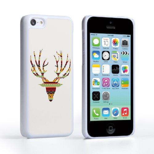 Caseflex Coque iPhone 5C Etui Aztec Cerf Dur Housse