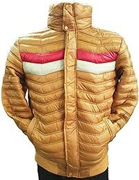 Wool Collar Puffer Jacket