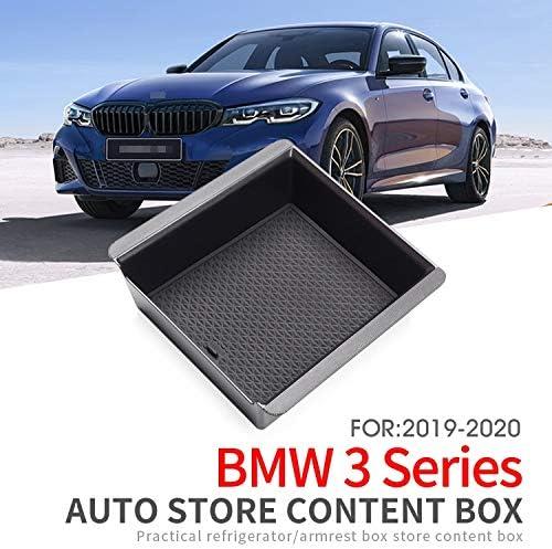 linfei Box Bracciolo Centrale Auto per BMW Serie 3 G20 330I 320 325 Accessori M340I Console Centrale Organizzatore Ripostitura