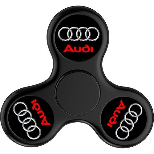 MUYE Audi Logo Fidget Spinner Toy Glowing Hand Spinner