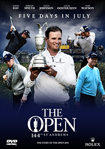 The Story of the British Open Golf Championship 2015 (Five Days in July - The Official Film) [DVD]