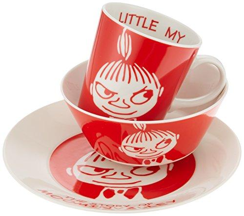 Moomin Valley Characters Lilla My Plate Bowl Mug Cup Gift Box Made in Japan