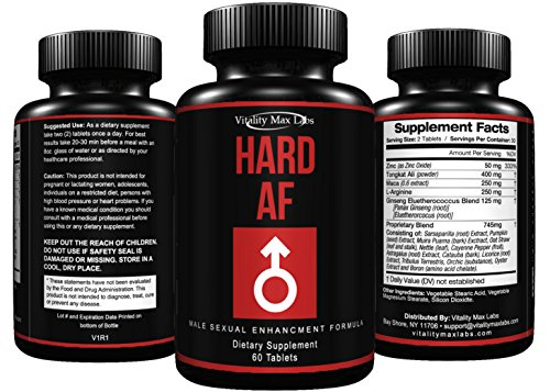 Hard AF Formula Enhancement tablets product image