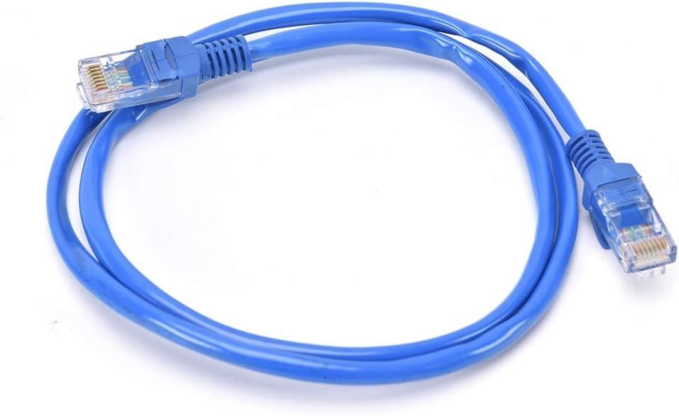 Computer Cables CAT5E Ethernet LAN Network Cable 1m//2m//5m//10m for Computer Router CAT 5 E Network Computer Cord Ethernet Adapter LAN Cables Cable Length: 1m