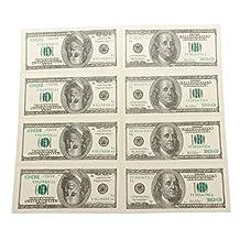 5Packs 1:1 Hundred Dollar Napkins / Money Bill Napkins by Geekfactory