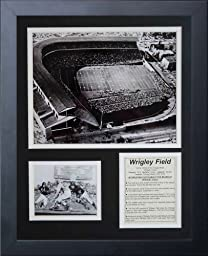 Legends Never Die Chicago Bears Wrigley Field Framed Photo Collage, 11x14-Inch