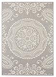 Balta Rugs 30413639.240305.1 Highland Light Grey Indoor/Outdoor Area Rug, 8′ x 10′ For Sale