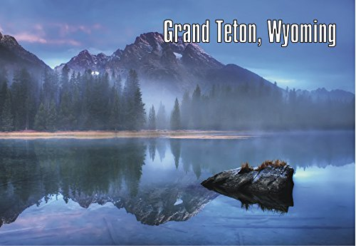 Grand Teton National Park, Wyoming, WY, Mountains, Souvenir Magnet 2 x 3 inch Fridge Magnet