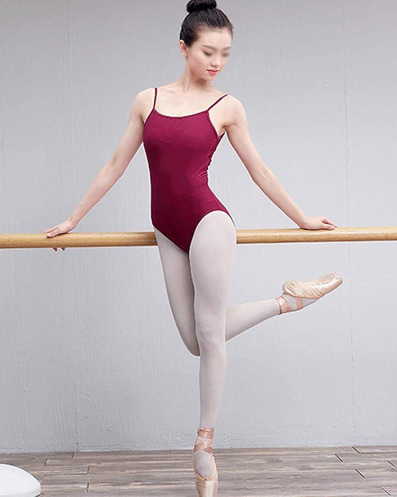df81dfd61d5ac Amazon.com: Womens Sling Open Back Dance Gymnastics Leotard Shape Costumes  Ballet Practice Clothes: Clothing