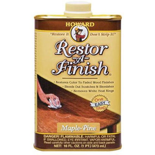 Howard RF2016 Restor-A-Finish, 16-Ounce, Maple-Pine (Pine Furniture Kits)