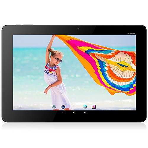 CHUWI HI10 PLUS 10.8 inch Tablet PC Windows 10 + Android 5.1 Intel Cherry Trail X5 Z8350 Quad Core 1.44GHz 4GB RAM 64GB ROM Type-C HDMI Cameras, Black
