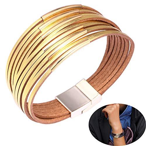 Jurxy Leather Wrap Bracelet...