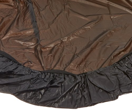 Kwik-Cover 60PK-BLK 60'' Round  Kwik-Cover Black Fitted Table Cover (1 full case of 50) by Kwik-Covers