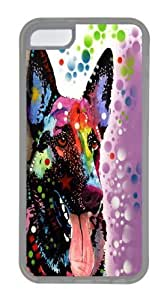 Lmf DIY phone casegerman shepherd 02 Custom iphone 4/4s Case Cover TPU TransparentLmf DIY phone case