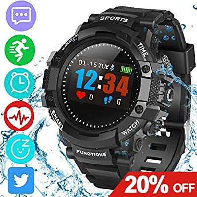 Amazon.com: Smart Watch Fitness Tracker, SmartWatch ...