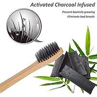 Cepillo de Dientes de Bambu con infusion de Carbon Activado de Cerdas Medias 100% biodegradable y ecologico (4)