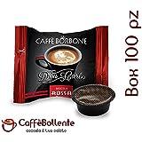 Caffè Borbone - Miscela Rossa - Capsule compatibili Lavazza A Modo Mio - Box da 100 pz