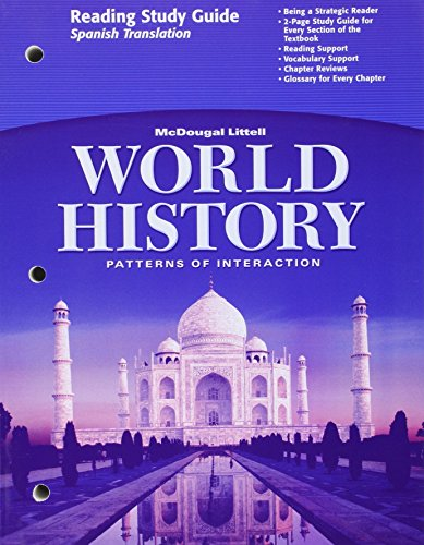 World History Patterns of Interaction (Reading Study Guide - Spanish Translation)