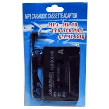 Cassette Adaptador para coche - Teléfono móvil, MP3, CD, DVD- Jack 3,5 mm: Amazon.es: Electrónica