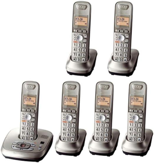 GUOOK TeléFono BotóN Vintage Hogar LíNea Fija TeléFono InaláMbrico Digital ÚNica MáQuina LíNea Fija con Cable SubmáQuina InaláMbrica Bienvenido (Color: E): Amazon.es: Hogar