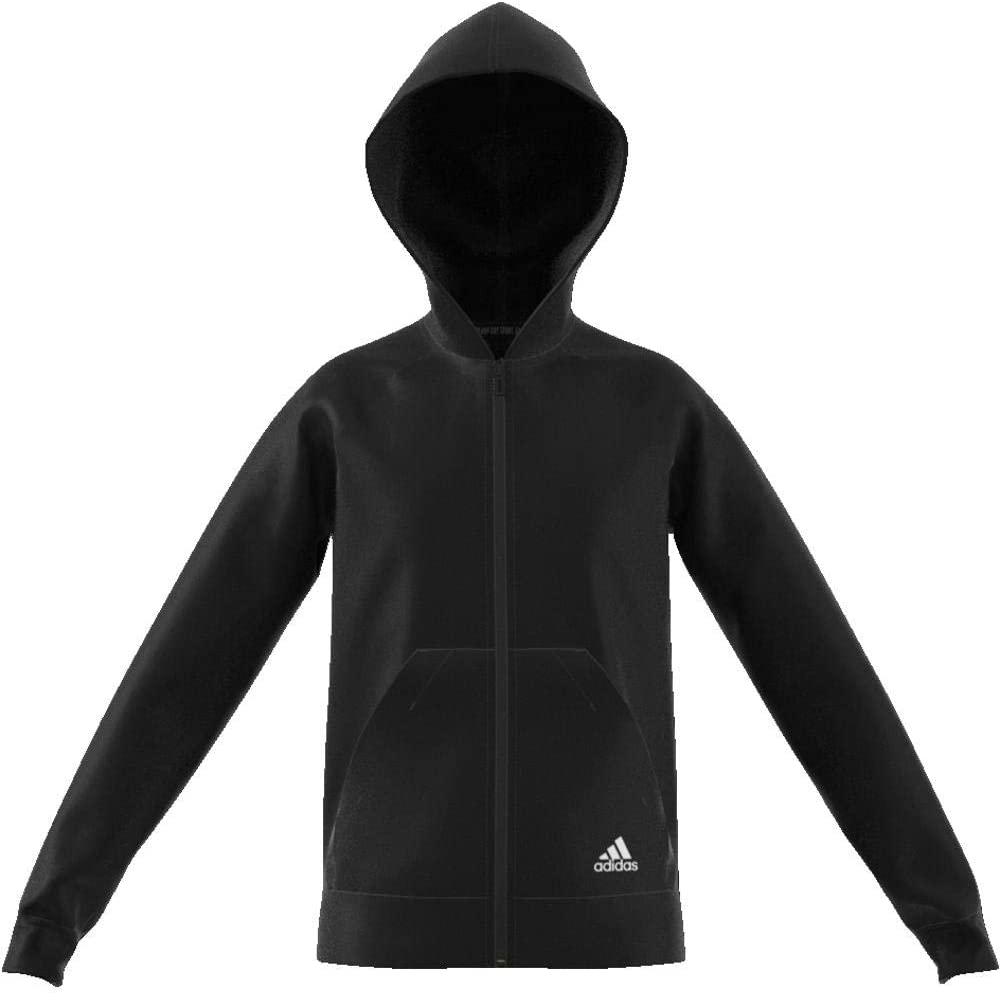 adidas Must Haves Plain Full Zip Hooded Veste de survêtement