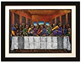 African American Expressions Last Supper Relief Art by D.D. Ike
