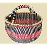 Bolga Baskets International Large Market Basket (Colors Vary)