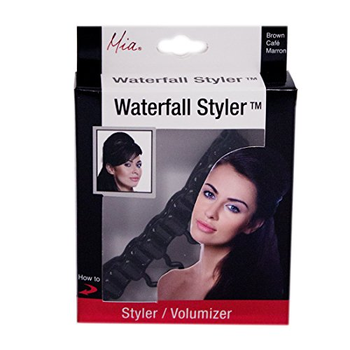 [Mia Waterfall Styler and Volumizing Tool-EASY TO USE! Measures 3.75