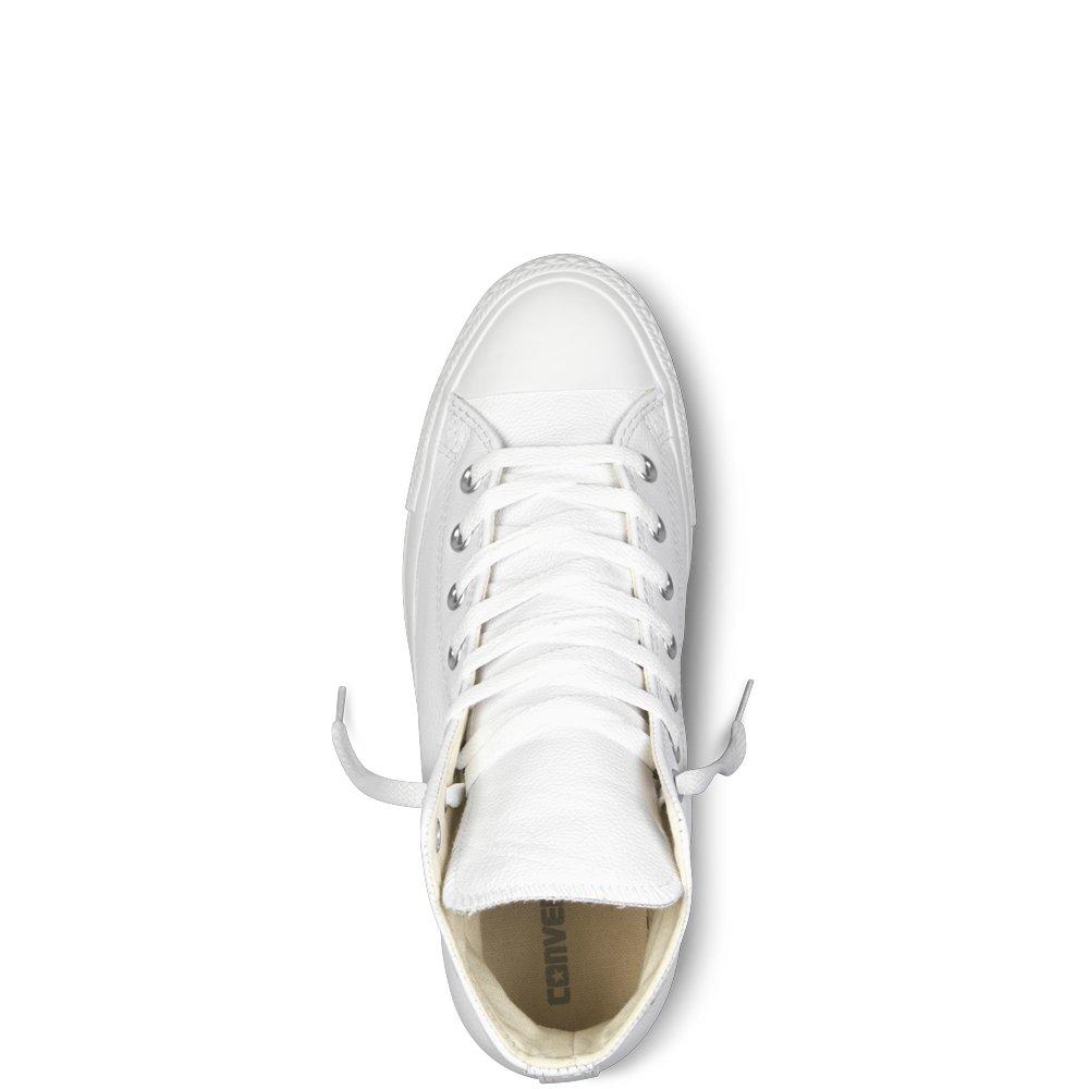 Converse Unisex-Erwachsene Ct A/S Lthr Hi WHT WHT WHT Monoch Sneaker Weiß (Blanc) e66c1c