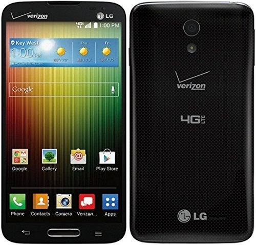 LG Lucid 3 4G VS876 8GB Verizon CDMA 4G LTE Dual-Core Android Smartphone - Black