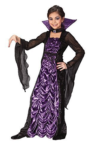 Countess of Darkness Child Costume (Small) by Halloween FX -