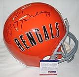 Andy Dalton AJ Green Signed / Autographed Cincinnati Bengals Full Size Football Helmet - PSA/DNA Certified