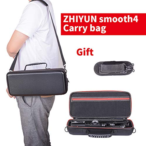 Zhiyun Smooth 4 Carrying Case, Portable Shockproof Waterproof Storage Protected Travel Bags and Boxes for Smooth 4 and Accessories