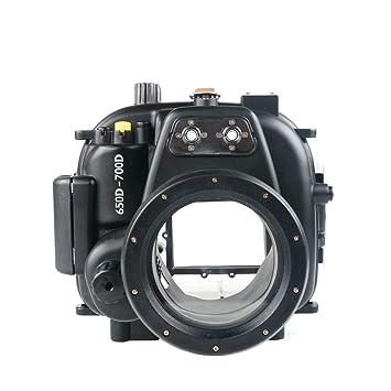 Sea Frogs - Carcasa Sumergible para Canon 650D 700D Rebel T4i T5i ...