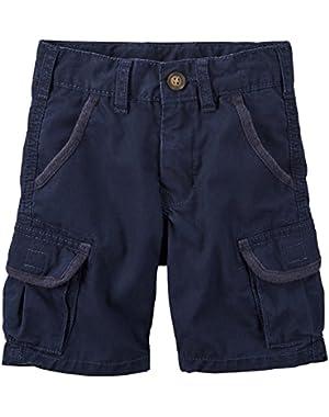 Carter's Navy Blue Cargo Shorts