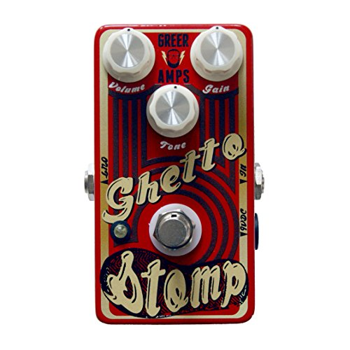 Greer Amplification Ghetto Stomp Overdrive Guitar Pedal (Best Tweed Overdrive Pedal)