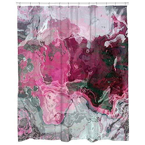 raspberry shower curtain - 3