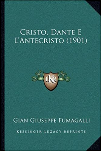 Book Cristo, Dante E L'Antecristo (1901)